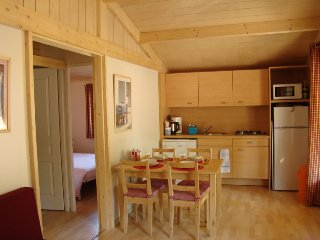 2017 EARLY BOOKING DEALS!  Cute wooden Chalet at Etang Vallier Resort Brossac - Brossac vacation rentals
