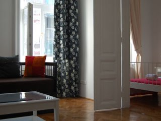Iago two ensuite double bedrooms luxury  apartment - Budapest vacation rentals