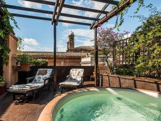 Rome Unique Spanish Steps Jacuzzi Terrace - Rome vacation rentals