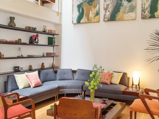 Historic duplex with mid-Century flair - Mexico City vacation rentals