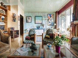 Design 120m2 flat - View Eiffel Tower- 3 bedrooms - Paris vacation rentals