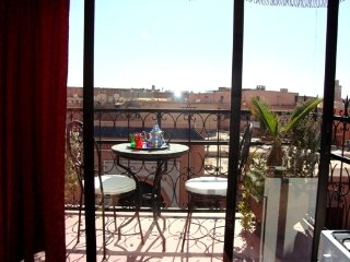Studio M6 Avec Terrasse Centre Ville Marrakech - Marrakech vacation rentals