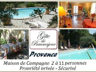 Maison de campagne avec piscine 2 à 11 personnes - Aubignan vacation rentals
