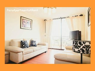 3 Bed, balcony, Gym Sauna, Pool. Close Larcomar ! - Lima vacation rentals