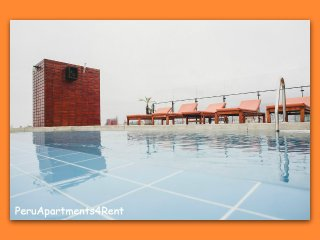 MODERNO DEPTO. 1 DORM. BALCON C/PISCINA GYM SAUNA - Lima vacation rentals
