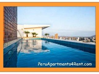 2 DORMITORIOS CON PISCINA GYM SAUNA EN MIRAFLORES - Lima vacation rentals
