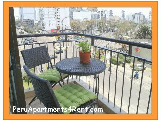 MIRAFLORES 1 DORM.  PISCINA GYM SAUNA ! - Lima vacation rentals
