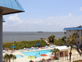Savannah Beach & Racquet Club Condos - Unit B319 - Water View - Swimming Pool - Tennis - Tybee Island vacation rentals