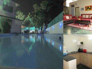 00) Spacious 2 Bed Private Apartment Nagoa & WiFi - Arpora vacation rentals