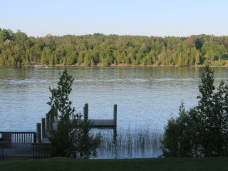Renovated in 2016! Lakefront MidCentury Modern - Charlevoix vacation rentals
