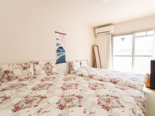 Shinjuku 8min! 2 double bed! Sakura at balcony! - Kita vacation rentals