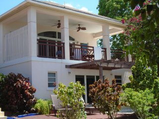 ON THE BEACH !! FAMILY APT. for 6-8 guests . - George Town vacation rentals