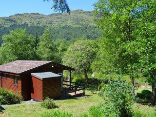 Romantic 1 bedroom Loch Eck Cabin with Mountain Views - Loch Eck vacation rentals