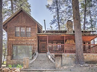 New Listing! 'Lookout Mountain Cabin' 4BR Ruidoso Cabin w/Wifi, 2 Stone Fireplaces & Grill - Close Proximity to Skiing, Shopping, Restaurants & More! - Ruidoso vacation rentals