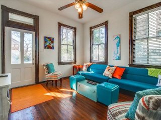 Bright, Beautiful and Beach-themed by the Seawall - Galveston Island vacation rentals