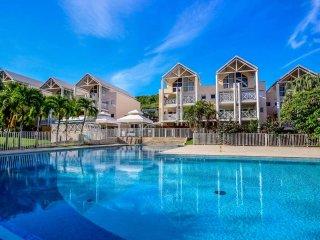 Appartement dans résidence piscine, plage à pied - Le Diamant vacation rentals