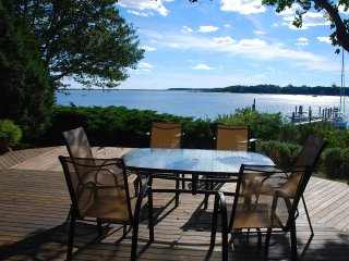 Waterfront Home in Oyster Harbors - beach + dock - Osterville vacation rentals