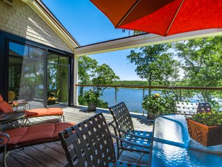 JOHST - Captivating, Luxury Waterfront Vacation Home,  Sweeping Waterviews , Ferry Tickets Available - please inquire - Vineyard Haven vacation rentals