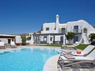 Aqua Breeze North Villa with pool by the sea - Plaka vacation rentals