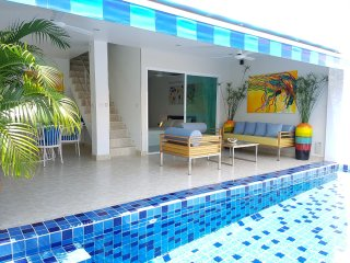 3Bedroom Duplex w/ Private Pool only 70m to Beach! - Surat Thani vacation rentals