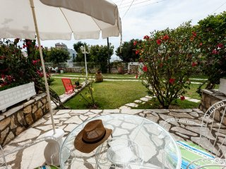 La Corfiota - private 1 bedroom beach garden apt w parking at Corfu west coast - Agios Gordios vacation rentals