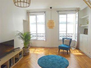 Design apt w/ 2 bdr, nice area - Paris vacation rentals