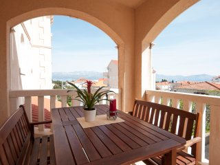 Two Bedroom Apartment with Terrace and Sea View - Supetar vacation rentals