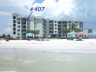 Caprice #407 - Beautiful 2 bedroom condo overlooking the Gulf! - Saint Pete Beach vacation rentals