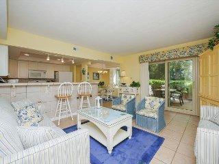 1654 Bluff Villa-Beautiful first floor villa-Quick walk to beach & marina - Hilton Head vacation rentals