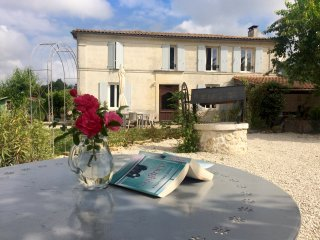 Chez Sibert villa with private heated pool, sleeps 8 plus 2 extra children - Cherac vacation rentals