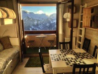 Cosy apartment 5p with south balcony - Alpe d'Huez - L'Alpe-d'Huez vacation rentals