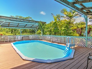 New Listing! Alluring 3BR Paradise Park House w/Wifi, Private Pool & Glamorous Ocean Views - Close to Beaches, Surfing, Ala Heiau Park & More! - Pahoa vacation rentals