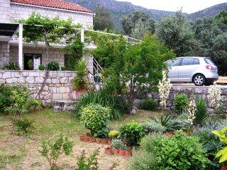 Apartment LINA  (4+2) with sea view/garden - Brsecine vacation rentals
