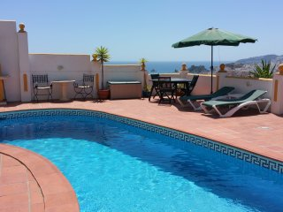 Lux. App. El Olivo, fantastic sea view, priv. Pool, WiFi, Parking, Meerblick - Almunecar vacation rentals