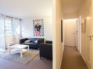 Modern, Luminous 2-BR Apt w Balcony - Paris vacation rentals