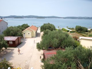 Modern 3-people apartment directly on beach! - Biograd na Moru vacation rentals
