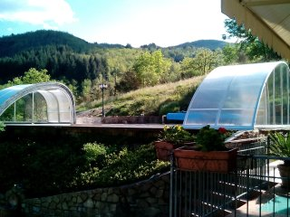 Tuscan villa in spectaular location with incredible heated pool, gym and jacuzzi - Castel San Niccolo vacation rentals