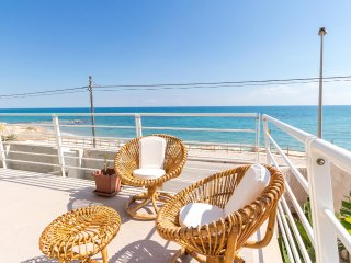 Archimede, beachfront apartment with view - Punta Secca vacation rentals