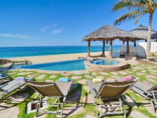 Stunning 4BD Beachfront House 30% OFF NEW YEAR'S RATE - San Jose Del Cabo vacation rentals