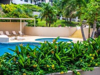 3 Bedroom Condo - Direct Beach Access & Amenities - Santa Cruz Huatulco vacation rentals