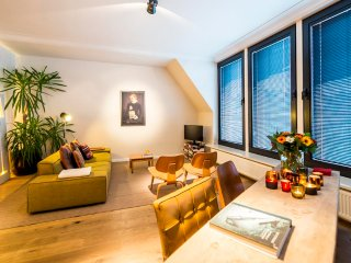 Aplace Antwerp: splendid third floor city flat with a gorgeous view - located in the fashion district area - Antwerp vacation rentals