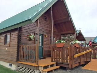 Log Cabin Near Beach, Hot Tub, Fireplace, WiFi - Ocean Shores vacation rentals