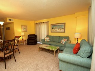 UNDER 21? No Problem!! Enjoy FREE BEACH CHAIR SERVICE with rental of our conveniently located Ground Floor 2 Bedroom, 2 Bath at the Summit! Sleeps 8 Guests - Thomas Drive vacation rentals