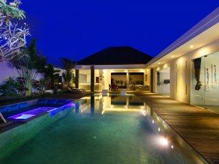 Wonderful modern villa with its infinity pool - Seminyak vacation rentals