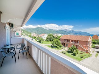 Apartments Vukovic-Two Bedroom Apartment with Sea View 1 - Bijela vacation rentals