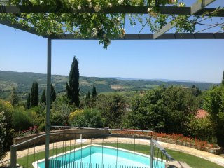 apartment luxuriously renovated in farmhouse La Te - Panzano vacation rentals