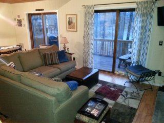 Bright 3 bedroom Lake Ariel Chalet with Internet Access - Lake Ariel vacation rentals