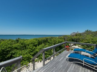 GRUNG - Perfect Beach Front Cottage. Expansive Waterveiws, Gorgeous Sunsets, Pristine Modern Interior. - Vineyard Haven vacation rentals
