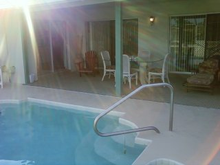 Fish in Our Salt Water Canal, Heated Pool, Jaccuzi - Palm Coast vacation rentals