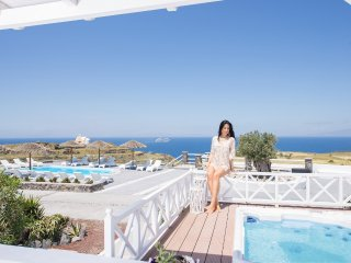 "OIA SUNSET VILLAS - villa ""EMERALD"" - Pool & Spa - Oia vacation rentals"
